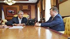 Глава РК Сергей Аксенов встретился с новым главой администрации Симферополя Игорь Лукашевым