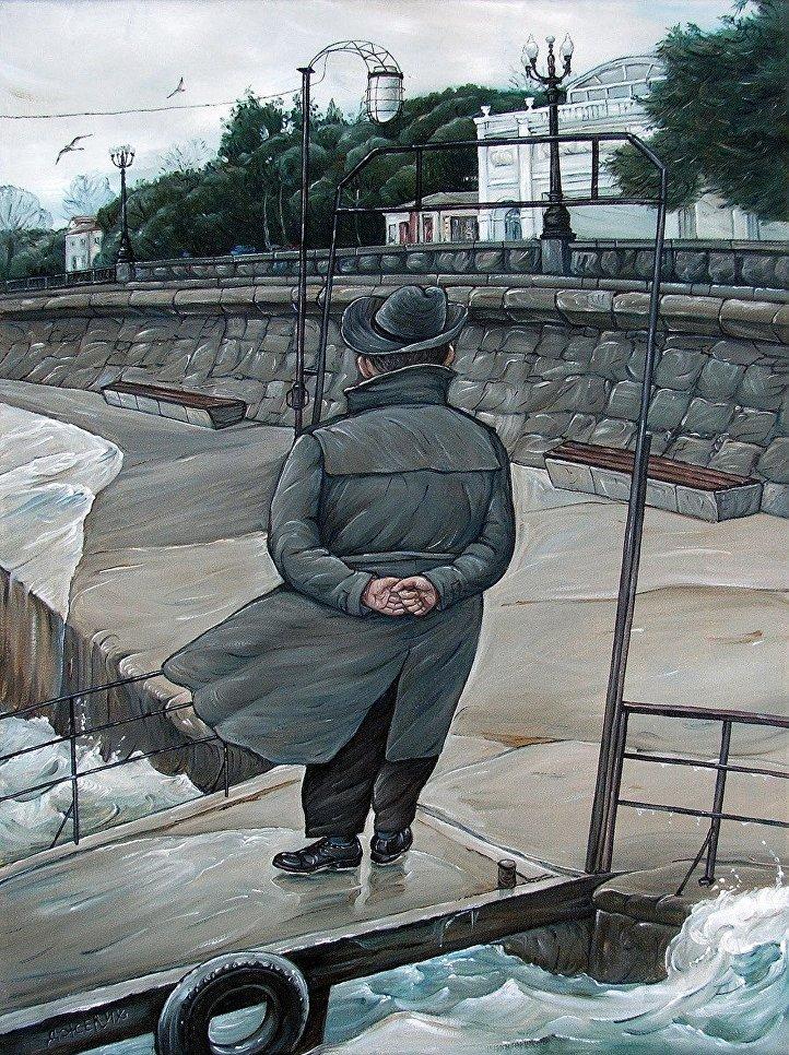 Картина Межсезонье художницы Анжелы Джерих