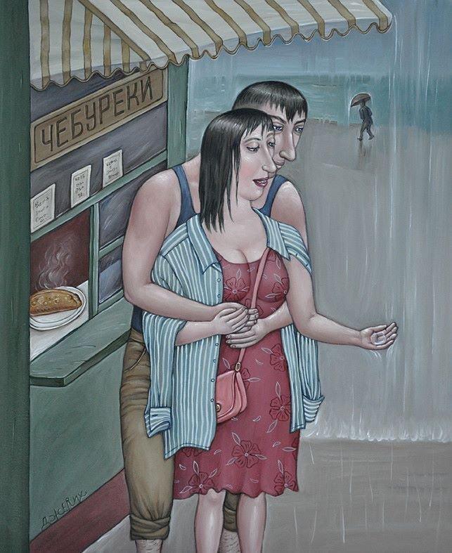 Картина Майский дождь художницы Анжелы Джерих