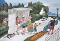 Картина Крымские сувениры художницы Анжелы Джерих
