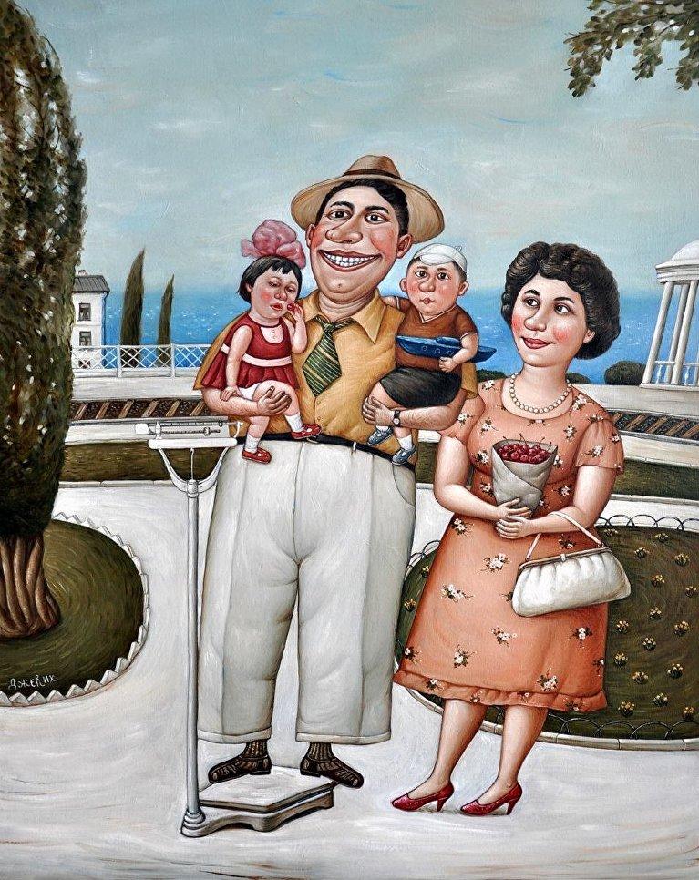 Картина Черешня художницы Анжелы Джерих