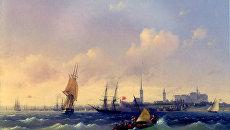 Картина Ивана Айвазовского Вид на Ревель, 1844 год
