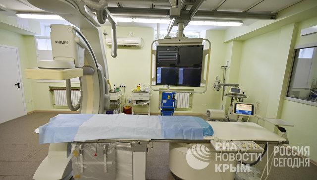 Операционная в кардиологическом центре в Республиканской клинической больнице им. Семашко