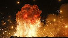 Пожар на военной базе в Винницкой области