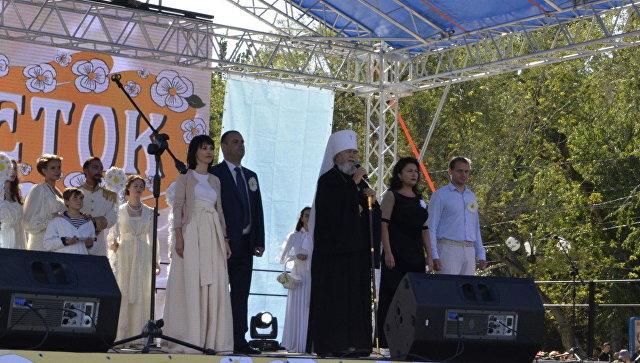 В Феодосии прошла благотворительная  акция Белый цветок