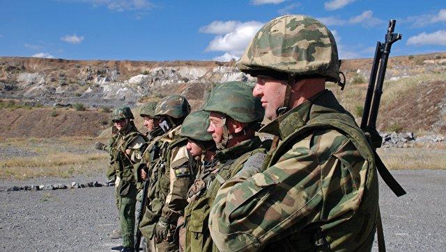 Бойцы отдельной разведывательной роты Первой Славянской бригады ВС ДНР
