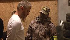 Задержание экстремистов Таблиги Джамаат* в Крыму. Оперативная съемка