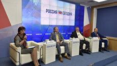 Пресс-конференция делегации Изборского клуба на тему: Крымский мост, как путь к русской мечте