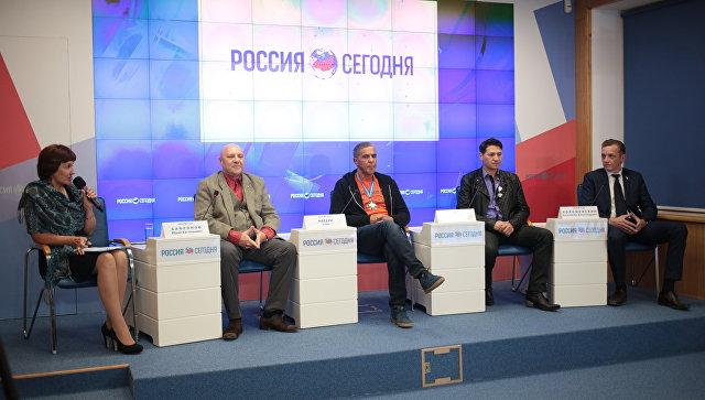 Пресс-конференция Французские звезды в Крыму
