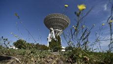 Радиотелескоп П-2500 (РТ 70) в Центре дальней космической связи в селе Витино под Евпаторией
