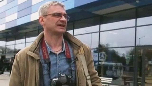 Корреспондент НТВ Вячеслав Немышев
