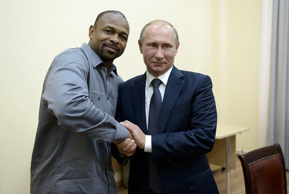 Рабочая поездка президента РФ В.Путина в Крым