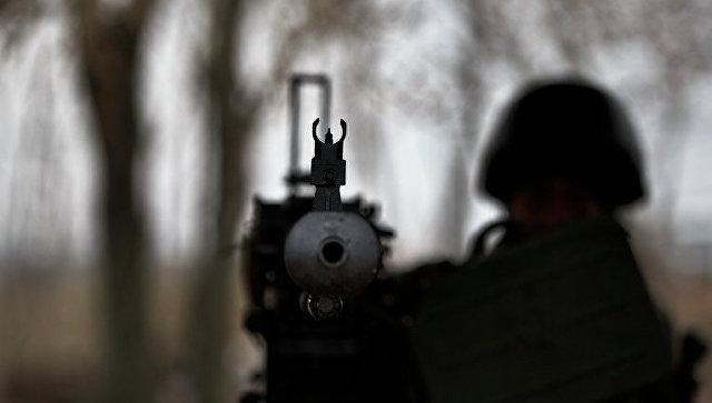 Солдат ВСУ в Донбассе. Архивное фото