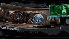 Скриншот из компьютерной игры, на котором изображен убитый посол РФ в Турции Андрей Карлов
