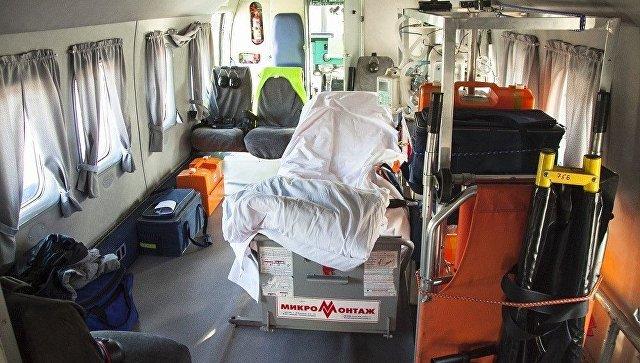 В Ялте запущены вертолеты санитарной авиации