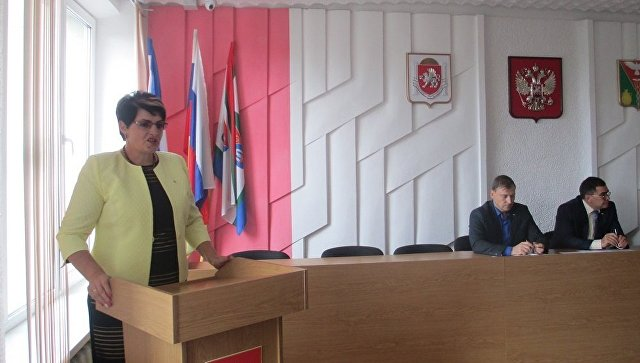 Глава администрации Кировского района Елена Янчукова
