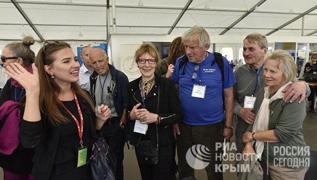 Участники норвежской делегации посетили II Всероссийский образовательный форум в МДЦ Артек