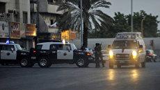 Сотрудники службы безопасности в Саудовской Аравии