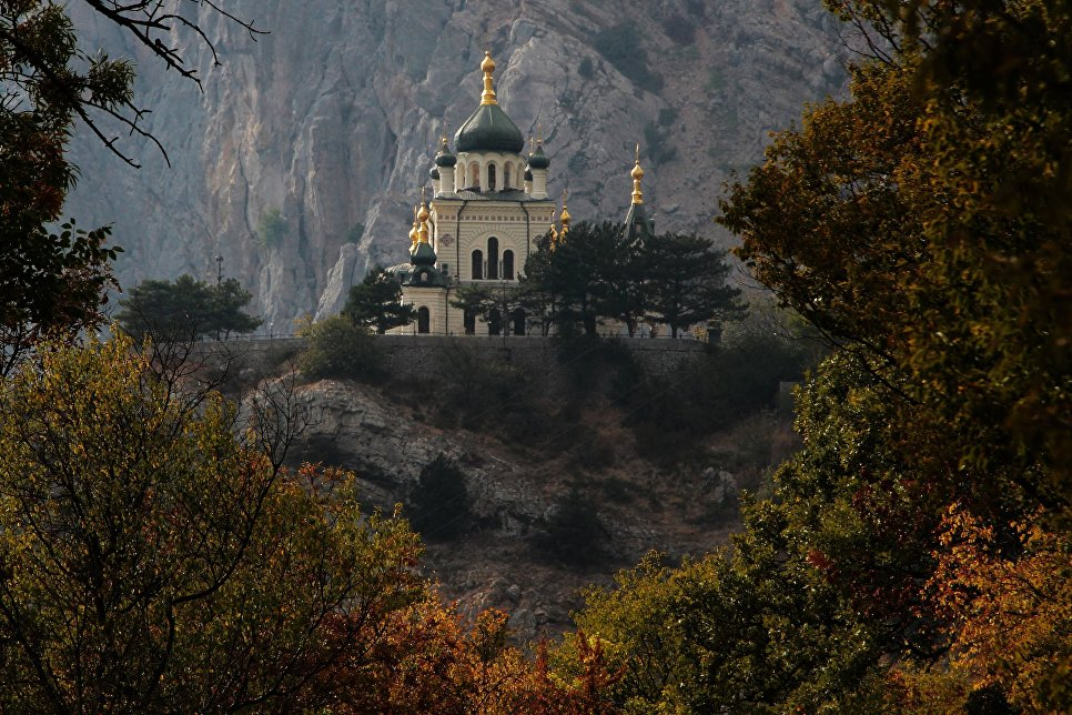 Церковь Воскресения Христова в поселке городского типа Форос