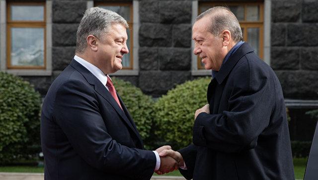 Визит президента Турции Р. Т. Эрдогана на Украину