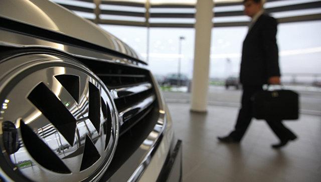Работа завода Volkswagen. Архивное фото