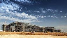 Строительство аэровокзального комплекса в аэропорту Симферополь