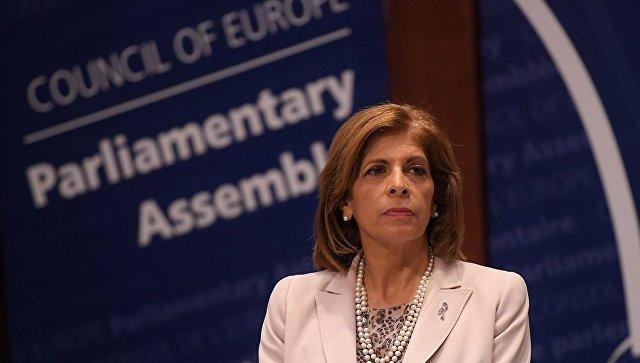 Председатель Парламентской ассамблеи Совета Европы Стелла Кириакидис