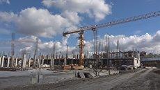 Строительство объекта ФЦП в Симферополе