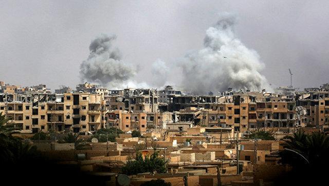 Ситуация в Ракке. Архивное фото