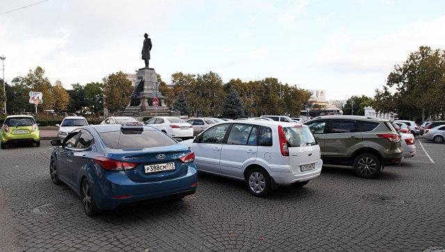 Площадь Нахимова в Севастополе. Архивное фото