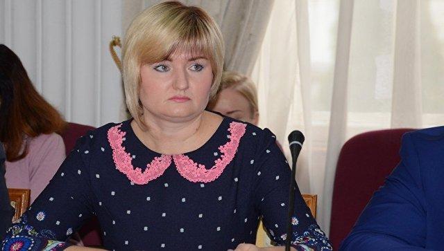 Заместитель главы администрации Ялты Виктория Тихонова