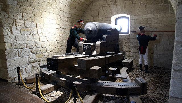 Константиновская батарея в Севастополе