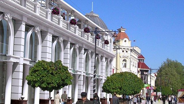 Проект реконструкции здания по улице Карла Маркса в Симферополе