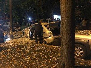 Место покушения на Мосийчука в Киеве
