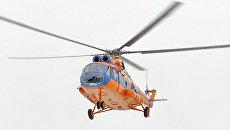 Вертолет Ми-8 авиакомпании Конверс Авиа. Архивное фото