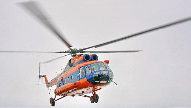 Вертолет Ми-8 авиакомпании Конверс Авиа