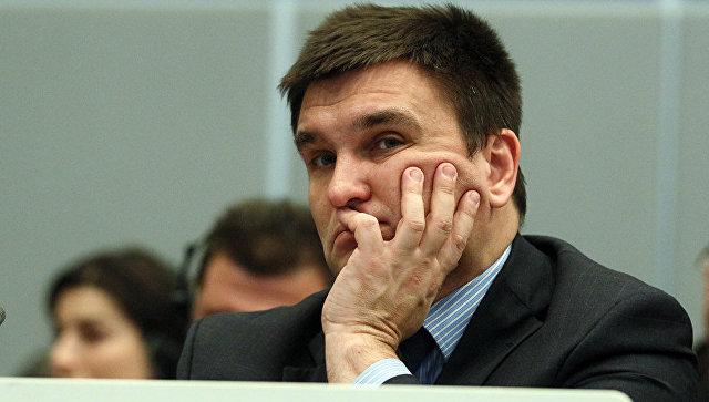 Климкин обсудил вБрюсселе международный механизм подеоккупации Крыма
