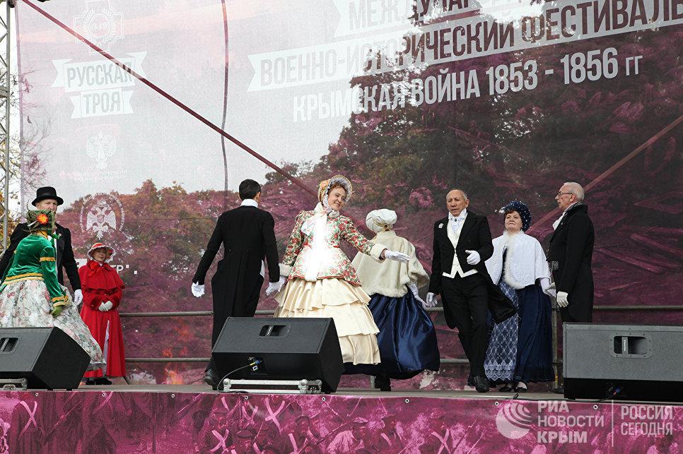 Концерт в рамках военно-исторического фестиваля Русская Троя, Севастополь