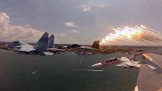Минобороны показало возможности истребителя поколения 4+ Су-30СМ
