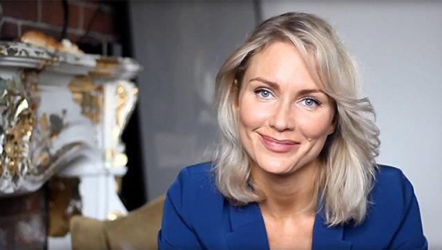 Стоп-кадр из видео Екатерины Гордон