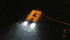 Запуск Фалькона для обследования упавшего в море у Шпицбергена Ми-8