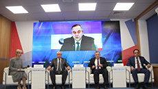 Пресс-конференция в формате видеомоста на тему: Крым встречает друзей