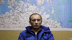 Российский военнослужащий Александр Баранов