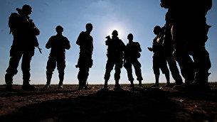Солдаты украинской армии. Архивное фото