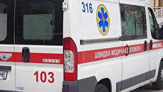 Автомобиль скорой помощи Украины. Архивное фото