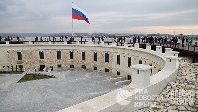 Открытие Константиновской казематированной батареи в Севастополе для посетителей