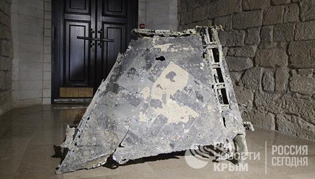 Открытие Константиновской казематированной батареи в Севастополе для посетителей. Один из экспонатов музейного комплекса