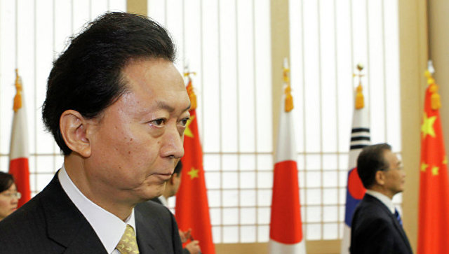 Экс-премьер-министр Японии Юкио Хатояма. Архивное фото