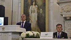 Председатель Госсовета Крыма Владимир Константинов на форуме друзей Крыма в Ливадийском дворце