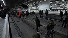 Студенты заблокировали вокзал в Барселоне в знак несогласия с действиями Мадрида
